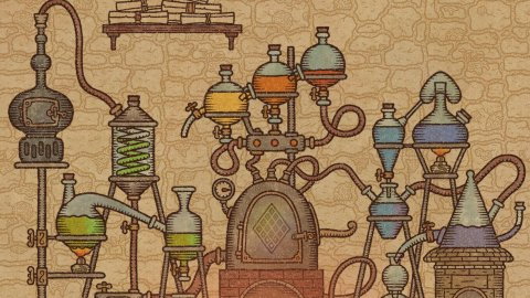 Potion Craft, we tried an alchemical adventure with a unique style
