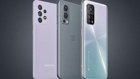 The best mid-range smartphones (October 2021)