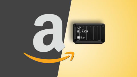Amazon offers: WD_BLACK D30 500 GB, SSD for PC and consoles at a discount