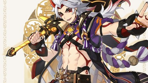 Genshin Impact: Arataki Itto unveiled by miHoYo, here are the first details
