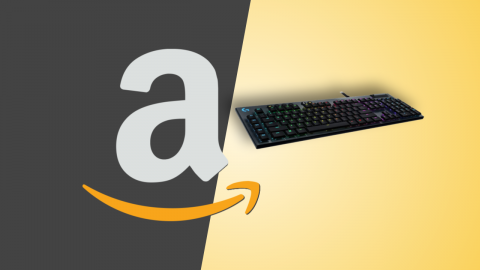 Amazon offers: Logitech G815 LIGHTSYNC RGB, wired gaming keyboard at a discount